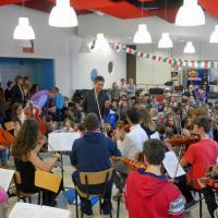 Mini Concert Orchestre L'Aquila Salle Don Bosco Novembre 2014