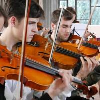 Orchestre et Choeur L'Aquila répétition Novembre 2014