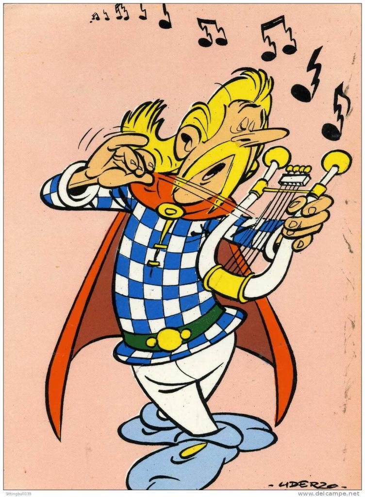 Les personnages musiciens - Personnage asterix et obelix ...